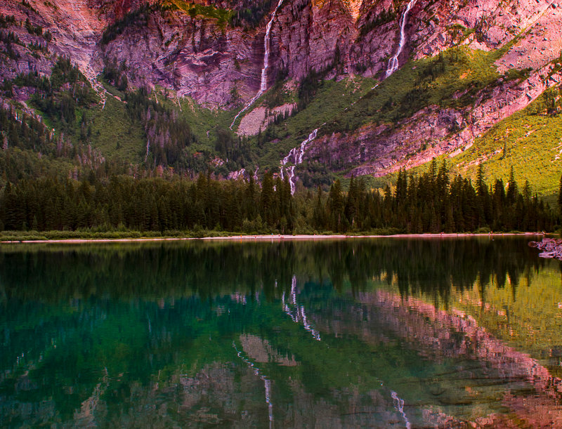 "1003 - ""Avalanche Reflections"" - Limited Edition Metal Print  (assorted sizes)"