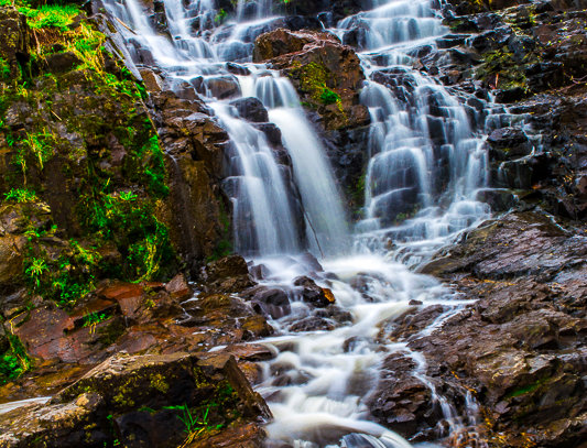 "1162 - ""Chester Creek Falls #4"" - Ltd Ed. Metal Print  (assorted sizes)"