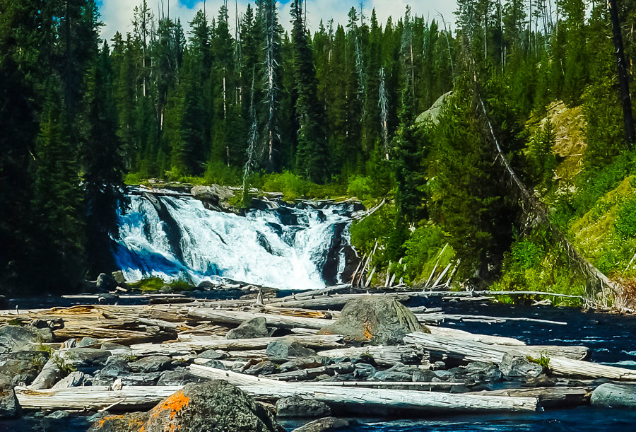 "1045 - ""Lewis Falls"" - Limited Edition Metal Print  (assorted sizes)"