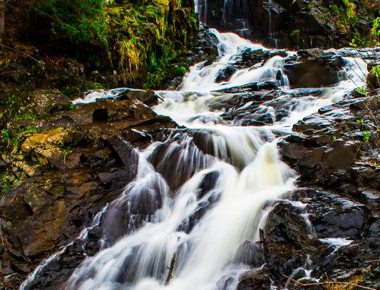 "1159 - ""Chester Creek Falls #1"" - Ltd Ed. Metal Print  (assorted sizes)"