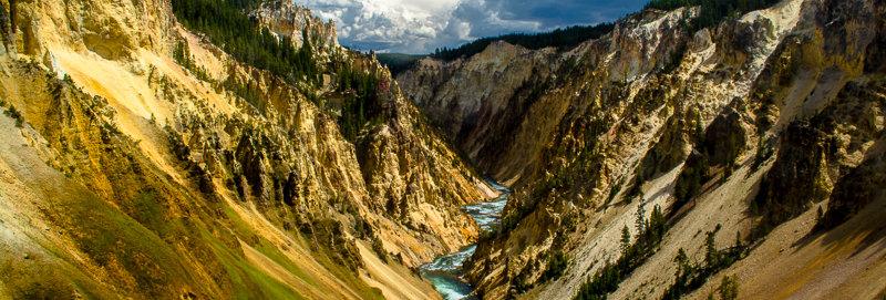 "1185 - ""Yellowstone Canyon #2"" - Ltd Ed. Metal Print  (assorted sizes)"