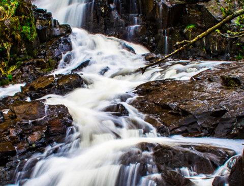 "1160 - ""Chester Creek Falls #2"" - Ltd Ed Metal Print (assorted sizes)"