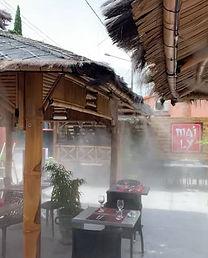 brumisation terrsasse restaurant