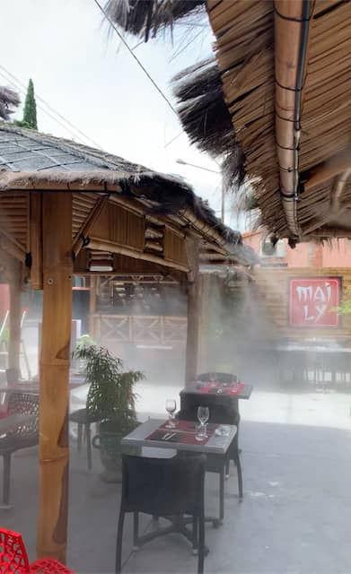 brumisation restaurant