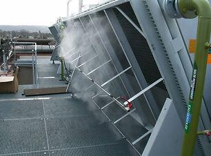 brumisation industrie aérocondensateur