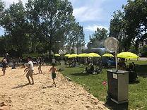 Brumisateur plage urbaine