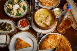 Блюда из меню ресторана LAVASH