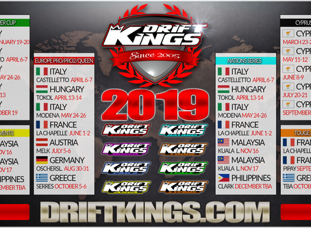 2019 Drift Kings Calendar