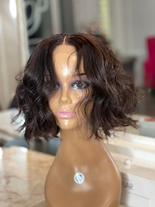 """Tammy - 12"""" Body Wave on 5x5 HD Closure (middle part)"""