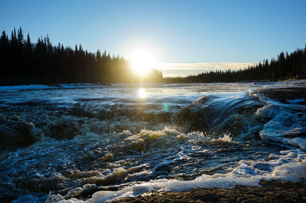 Flowing Water Freeze Frame