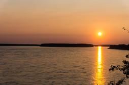 Summer Sunset over the Mackenzie