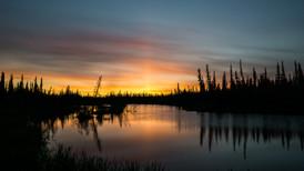 North Slave Sunset