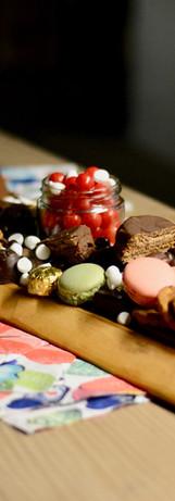 Tablas para compartir picoteo dulce