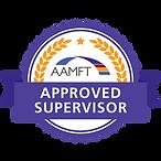 AAMFT Badge Approved Supervisor