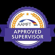 AAMFT Credly Badge Approved Supervisor-F
