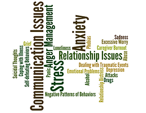Reasons for therapy at Olive Branch Family Therapy NC