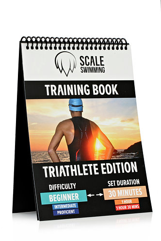 Waterproof TRIATHLON BEGINNER Training Books