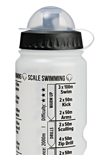 Scale Swimming Training Water Bottle | Triathlete Edition | 750ml