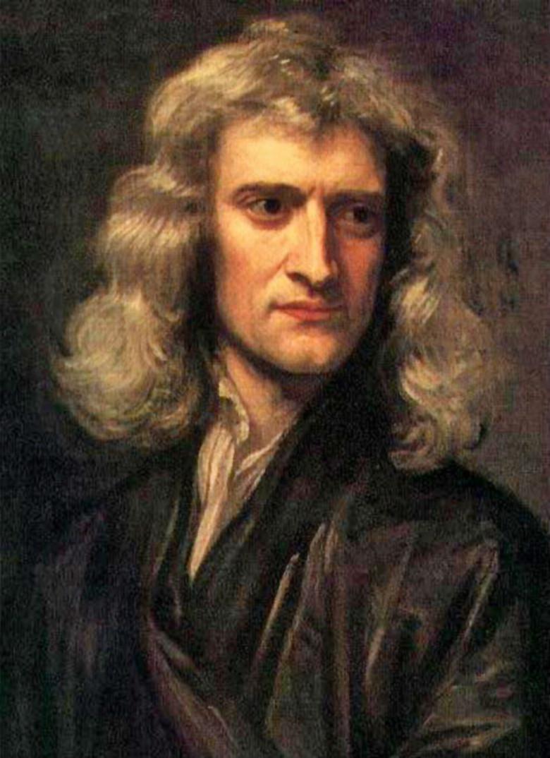 Portait of Sir Isaac Newton