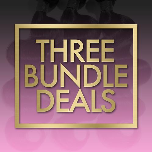 Three (3) Bundle Deals