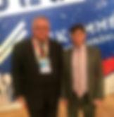Президент «Общенационального союза некоммерческих организаций» Айгистов А.А. и руководитель» Фонда поддержки президентских специальных, экономических программ» Нитяженко А.П.