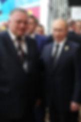 Нитяженко А.П. и Путин В.В.