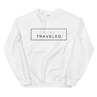 Well Traveled Unisex Sweatshirt