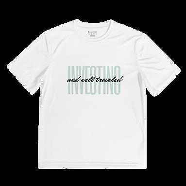 Investing + Well Traveled Men's Performance T-Shirt