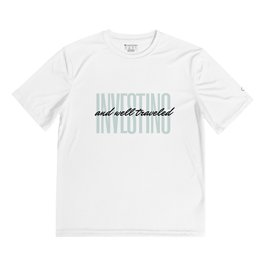 Investing + Well Traveled Men's Performance T-Shirt