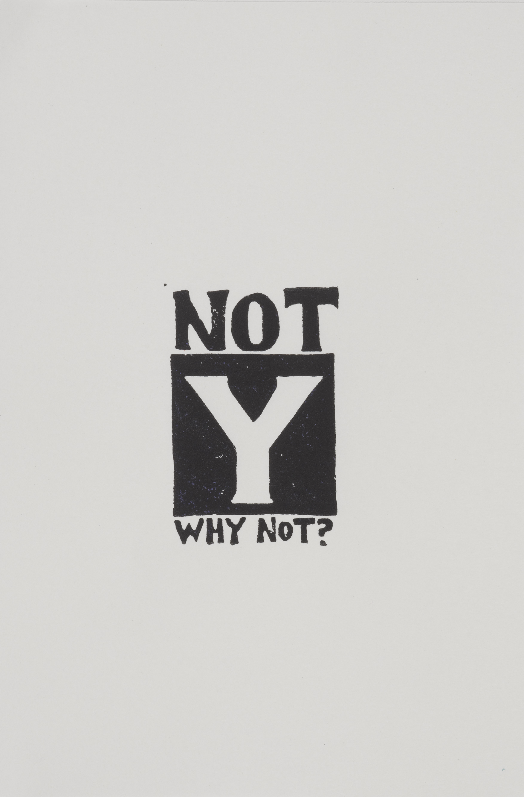Y is for Y