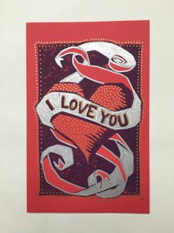 valentines print, 2016