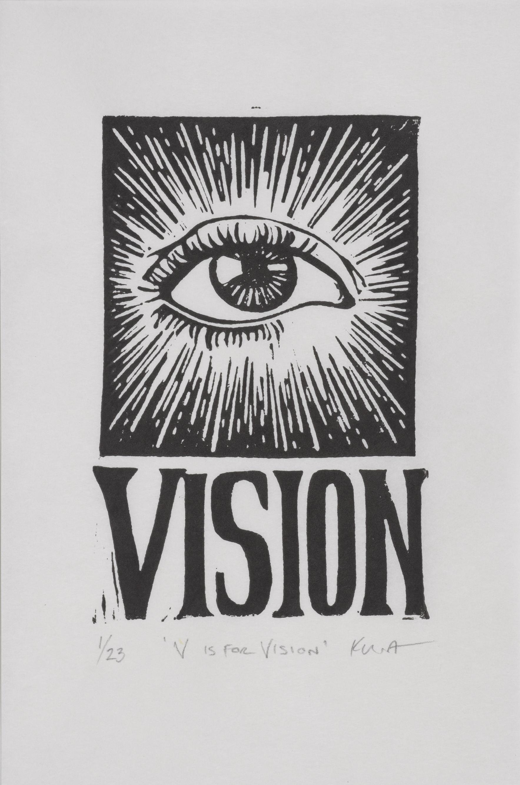 V is for Vision