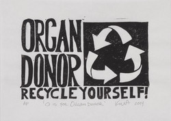 O is for Organ Donor