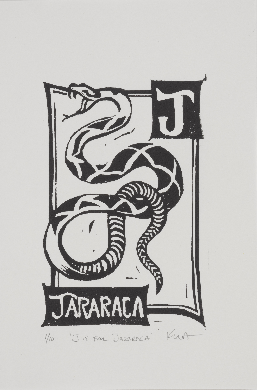 J is for Jararaca