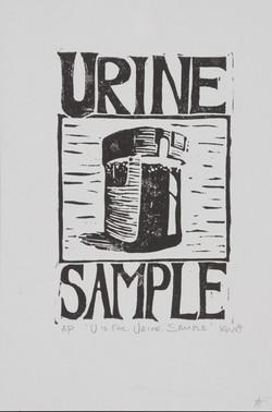 U is for Urine Sample