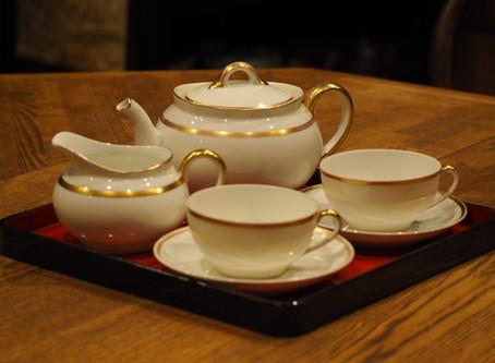 """Old Noritake Tea set """"M"""""""