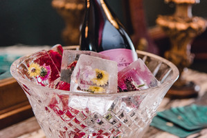 custom floral ice