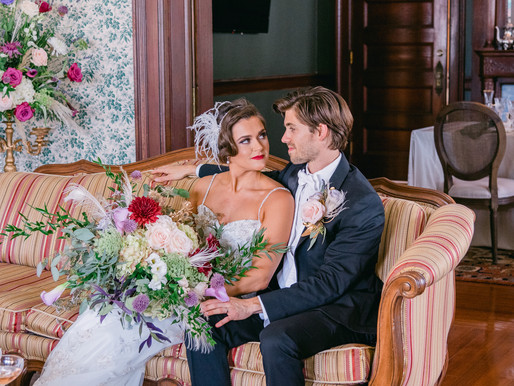 1920's Inspired Styled Wedding at the Anderson House