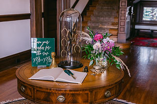 Anderson House styled shoot | Nina Basha