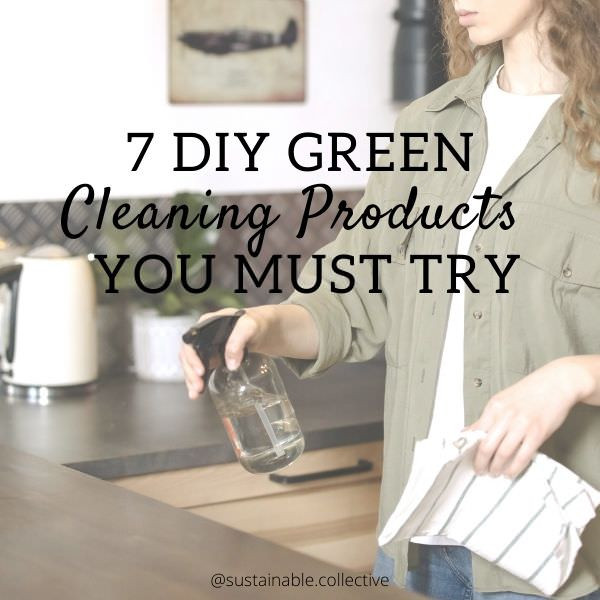 Making your own natural cleaning products couldn't be any easier. DIY green cleaning products listed below contain basic ingredients therefore are toxin-free, natural and easily done zero-waste. These green cleaning products are must try for sustainable living home.