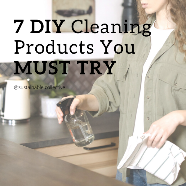 Sustainable collective natural zero-waste and eco-friendly DIY cleaning recipes you must try