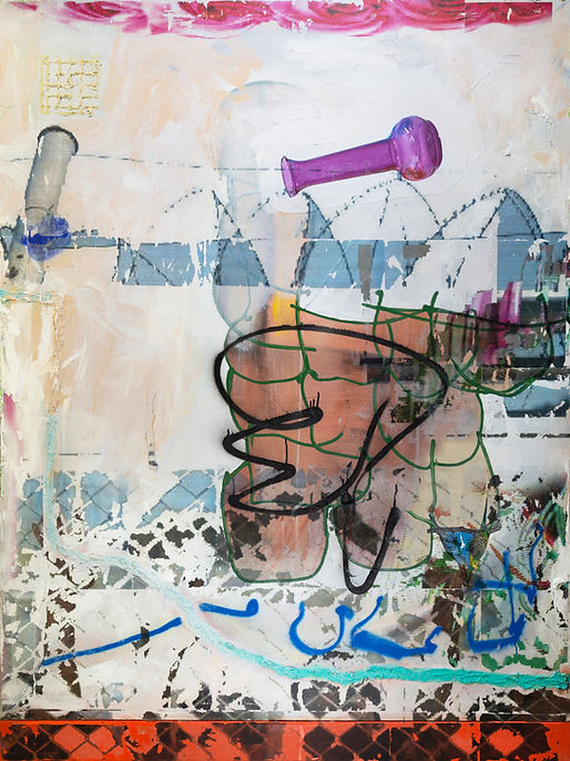 andrew dubach painting art contemporary abstract visual art painter