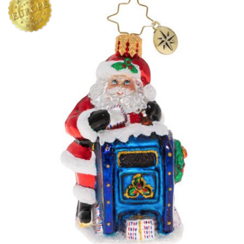 Radko Dear Santa Gem Ornament