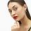 Thumbnail: KENDRA SCOTT Ansley Heart Small Hoop Earrings In Silver