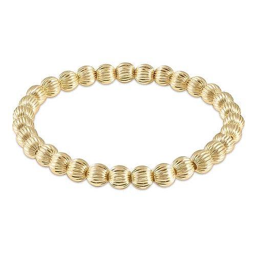 enewton - Dignity Gold 6mm Bead Bracelet