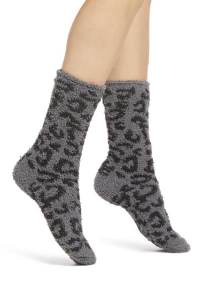 Barefoot Dreams Cozy Chic LEOPARD socks
