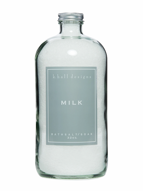 K. HALL MILK BATH SOAK