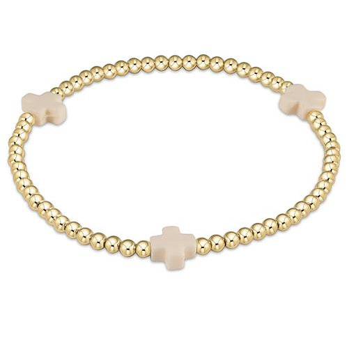 enewton - Signature Cross Bracelet in OFF-WHITE