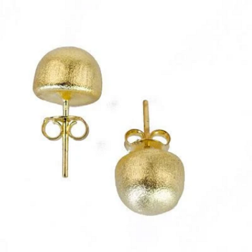 SHEILA FAJL Lilou Stud Earrings in GOLD