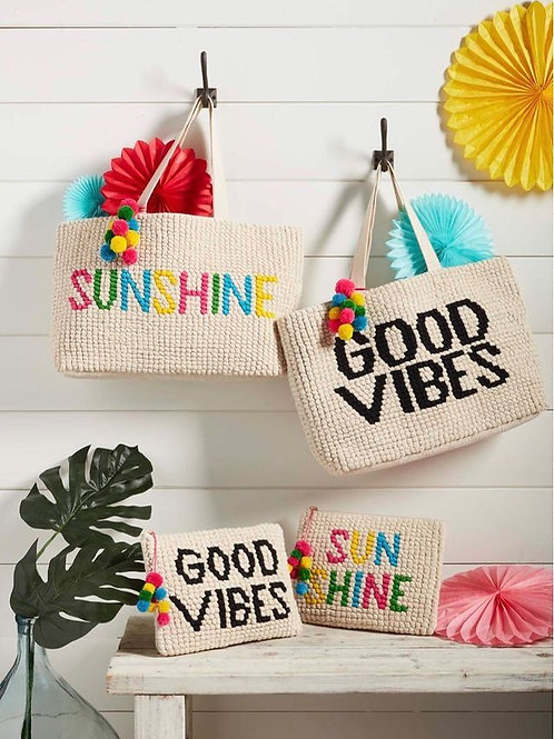 Mudpie SUNSHINE SUMMER TOTE BAG